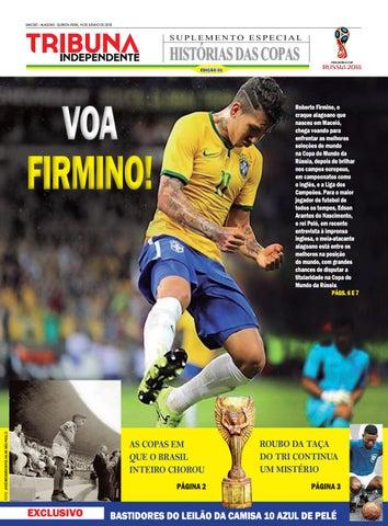 Edição número 1 - Suplemento Histórias das Copas by Tribuna Hoje - issuu a573a3b73d2e7