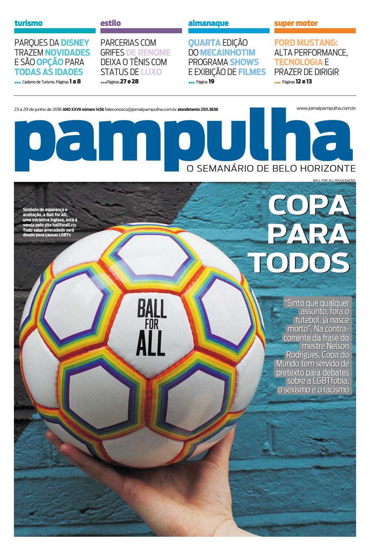 Pampulha - 23 a 29 de junho de 2018 by Tecnologia Sempre Editora - issuu 6c7cd659a1e1b