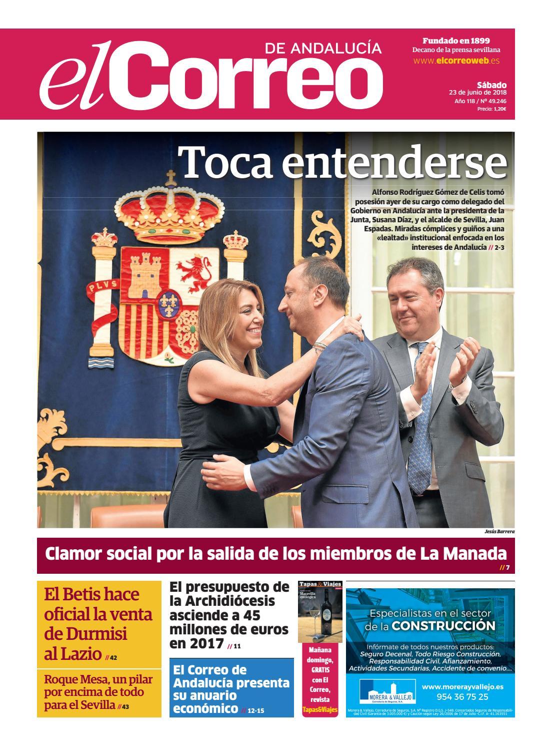 02f4f5eba73 23.06.2018 El Correo de Andalucía by EL CORREO DE ANDALUCÍA S.L. - issuu