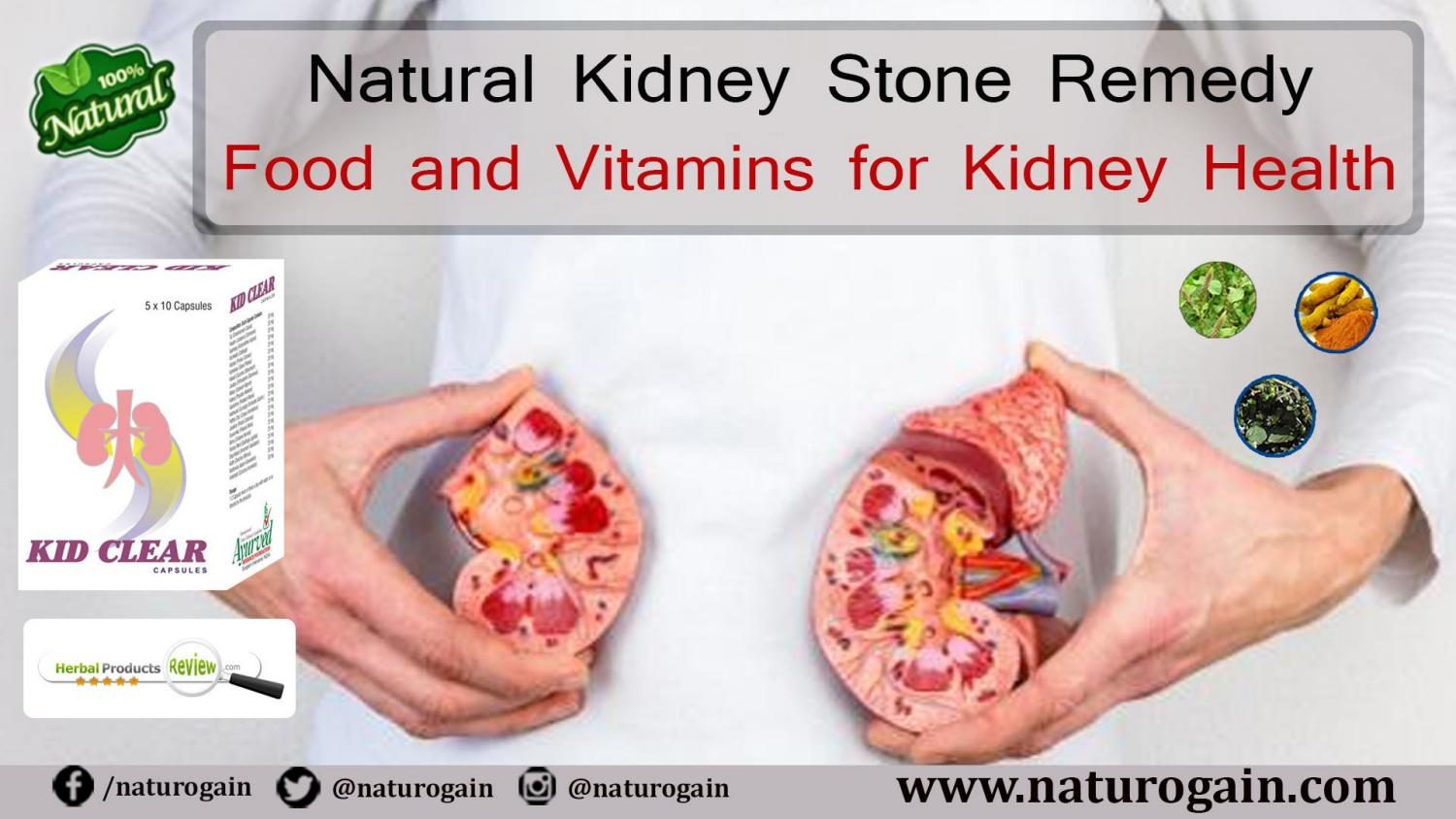 Natural Kidney Stone Remedy Food And Vitamins For Kidney Health By Charles Aleron Issuu
