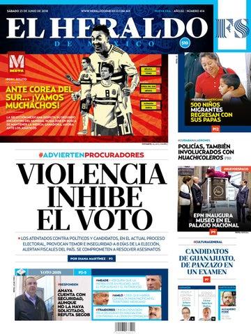 e3f76c116 23 de junio 2018 by El Heraldo de México - issuu