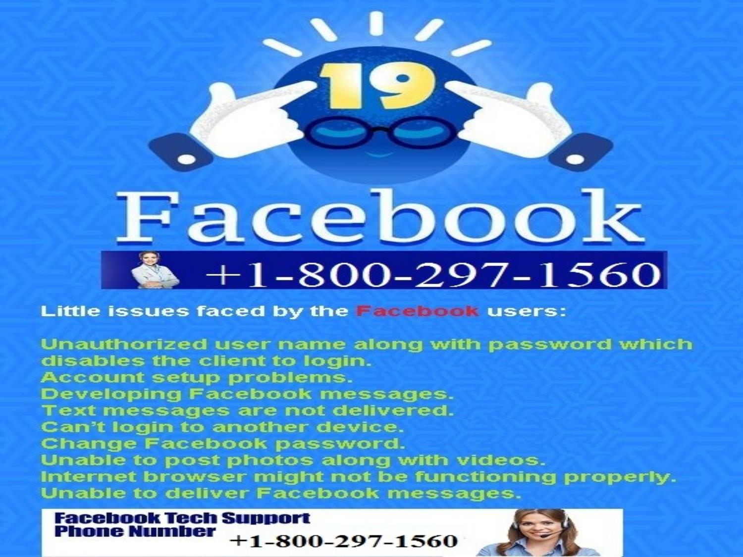 1-800-297-1560 facebook help center number for USA and