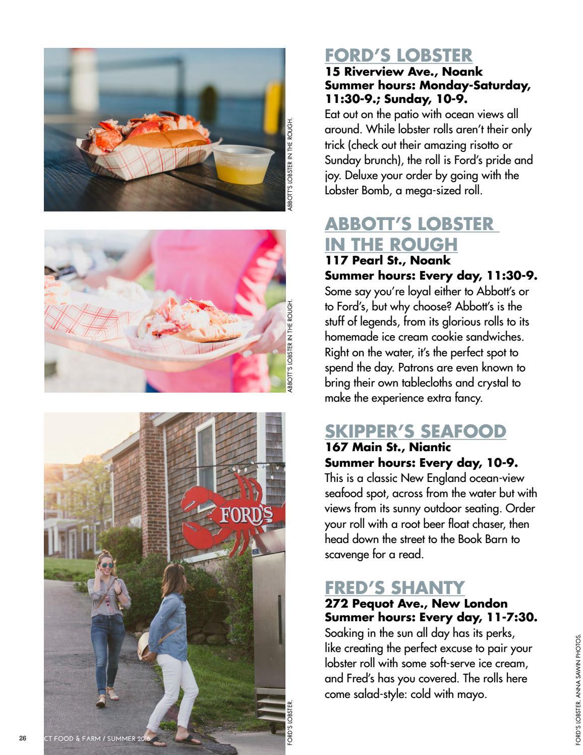 Connecticut Food & Farm Magazine, Summer 2018, Volume 13
