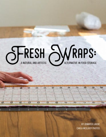 Page 59 of Fresh Wraps: A Natural and Artistic Alternative to Food Storage