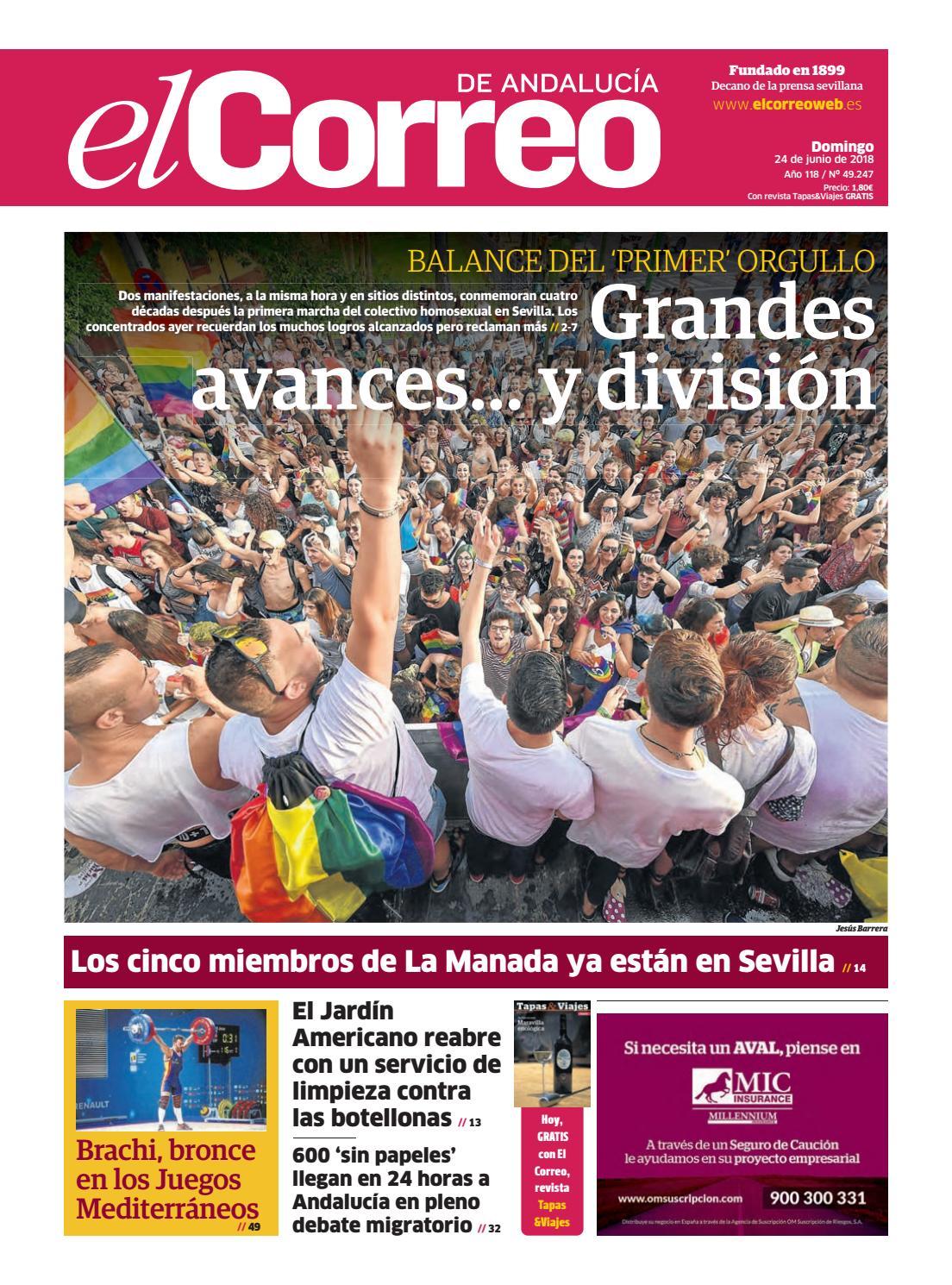 24.06.2018 El Correo de Andalucía by EL CORREO DE ANDALUCÍA S.L. - issuu 764bf46fd2e86