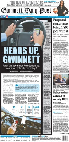 June 24, 2018 — Gwinnett Daily Post by Gwinnett Daily Post
