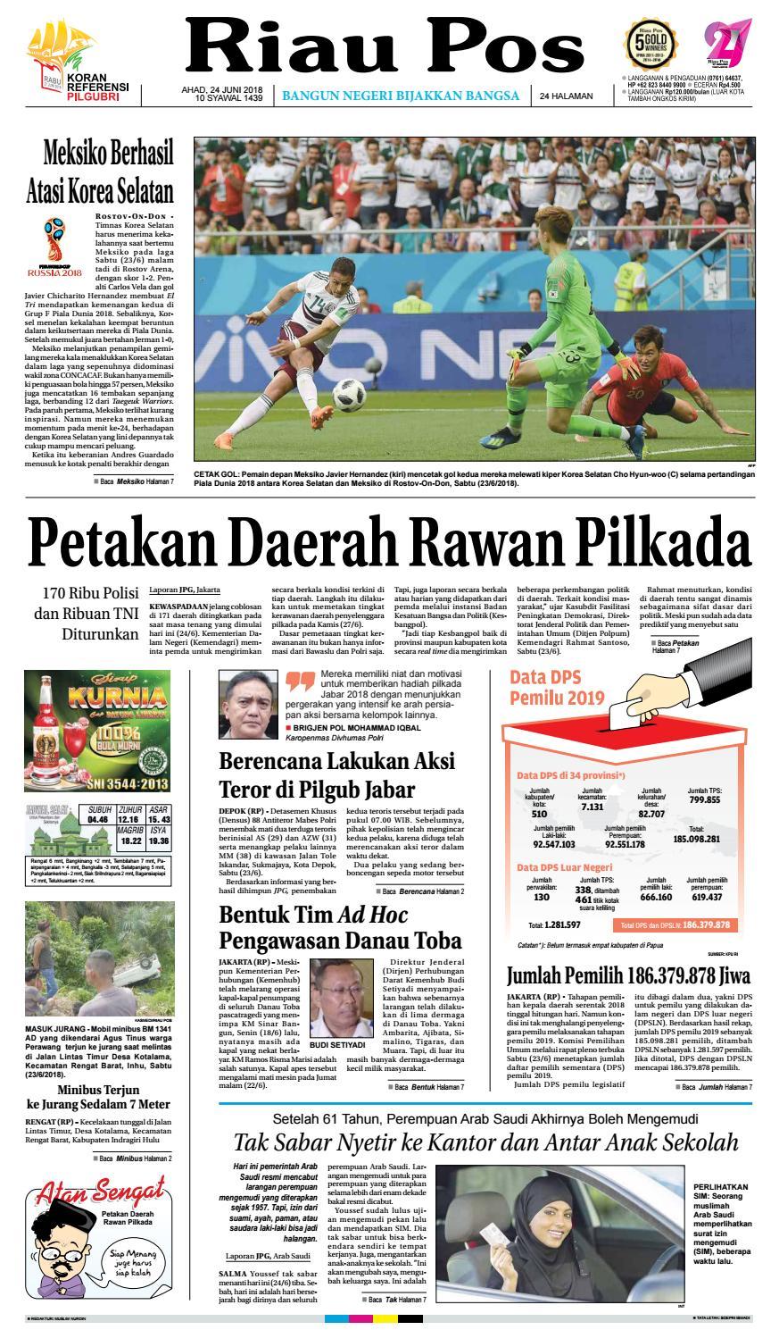 2018 06 24 By Riau Pos Issuu Kebab Pisang Coklat Champlo Sf