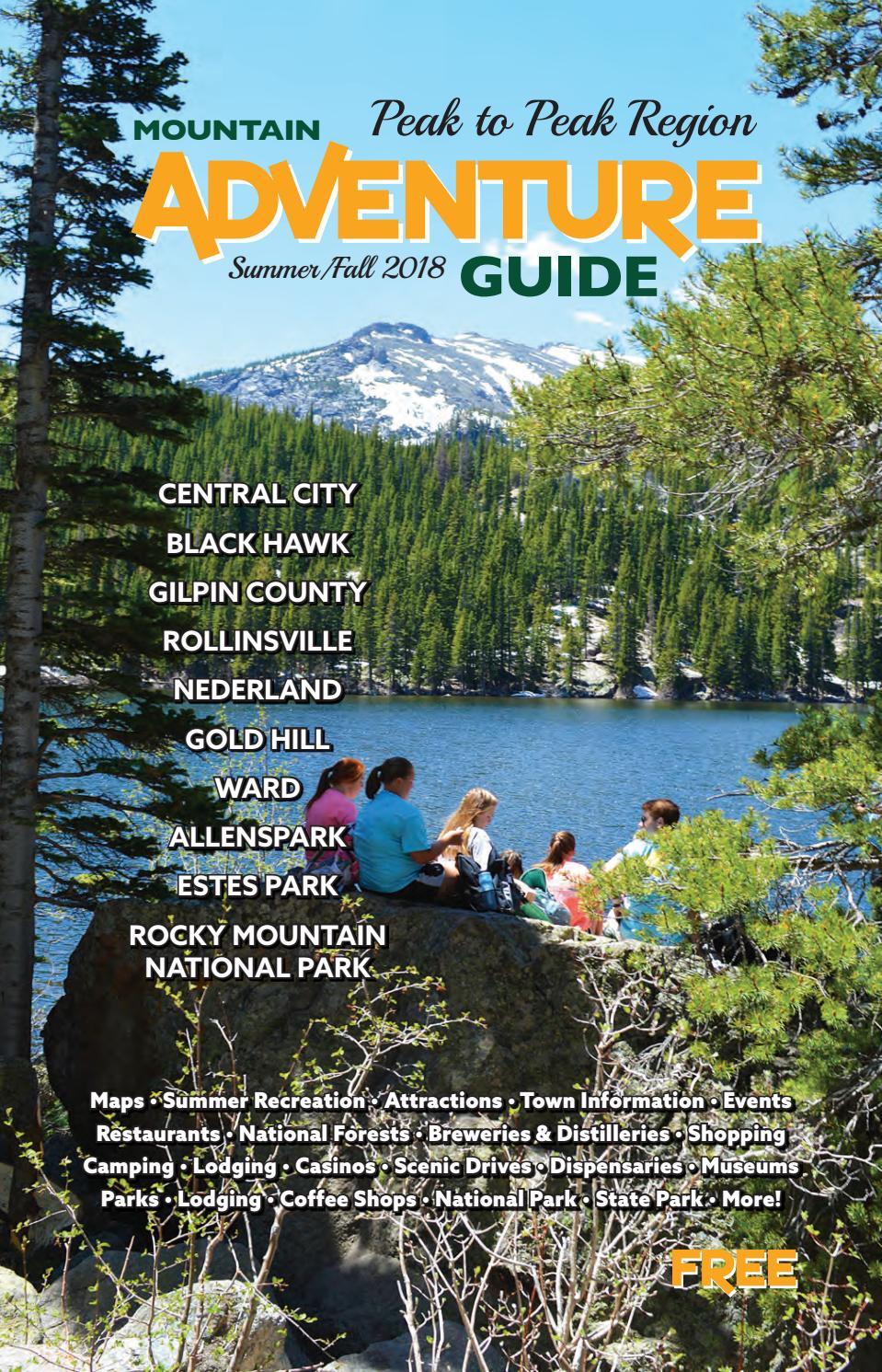 Mountain Adventure Guide - Peak to Peak Region: Summer/Fall