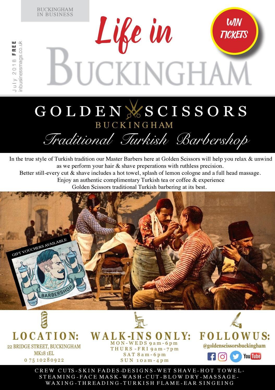 Life in Buckingham July 2018 issue by Best Area Magazines Ltd - issuu