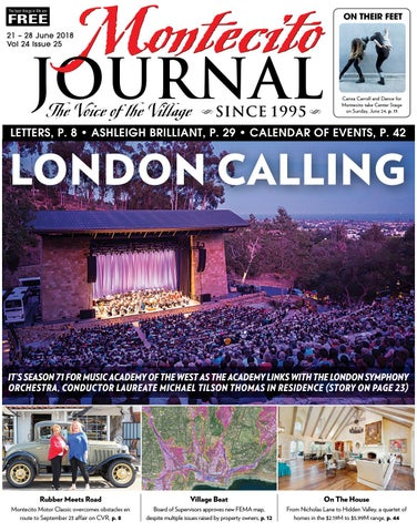 London Calling By Montecito Journal