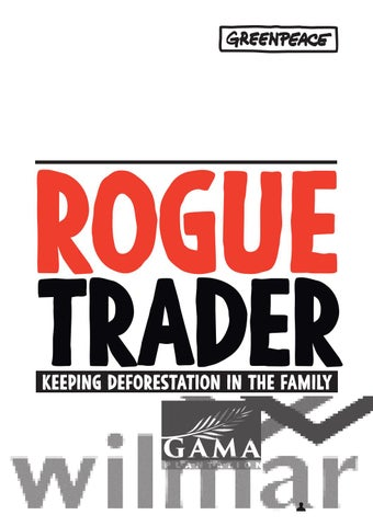Report gp ind rogue v6 1 pages by Greenpeace International - issuu