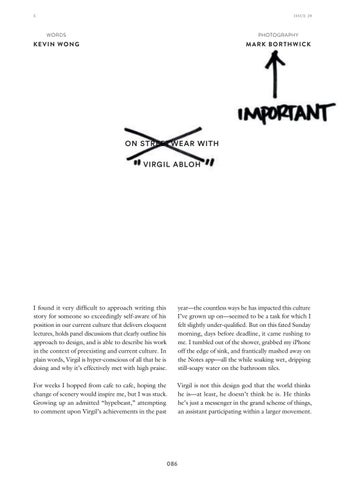 Page 88 of On Streetwear with Virgil Abloh