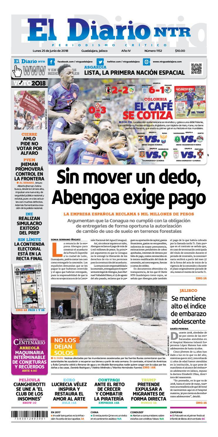 El Diario NTR 1152 by NTR Guadalajara - issuu 4b2a0c8f31cdc