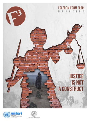 F3 Magazine - Justice is not a construct by F3magazine - issuu