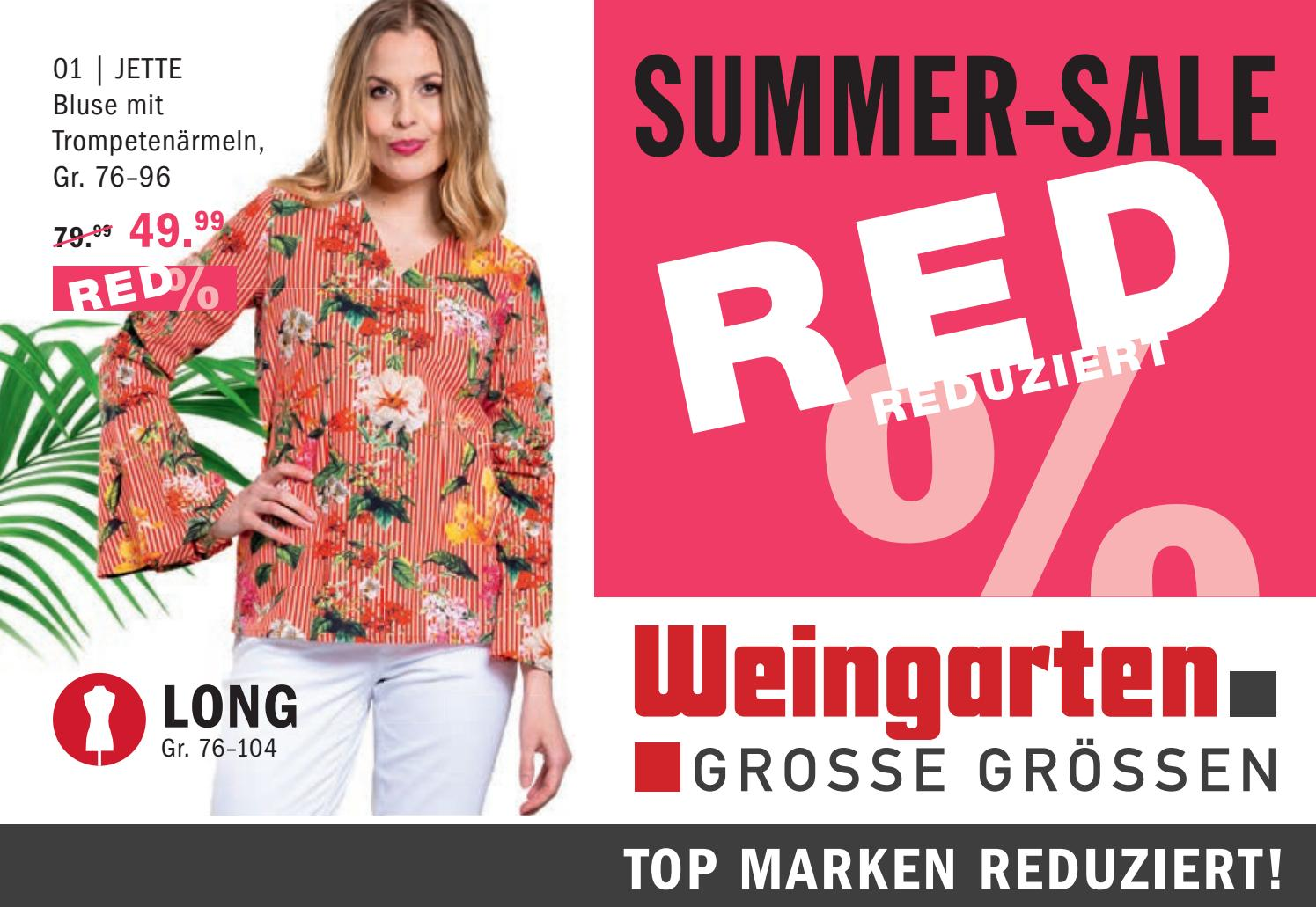 ef595708c5e183 Prospekt Long SSV Summer Sale by Modehaus Weingarten GmbH   Co. KG - issuu