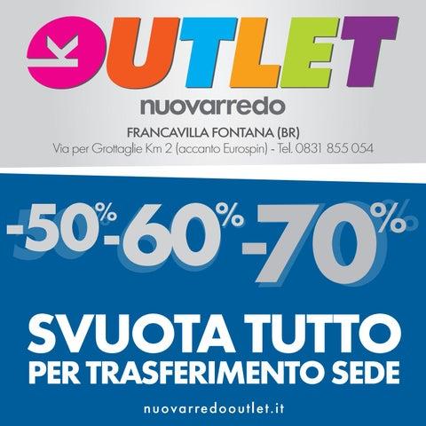 Nuovo Arredo Francavilla Fontana.Tabloid Nuovarredo Outletff Pag By Nuovarredo Issuu