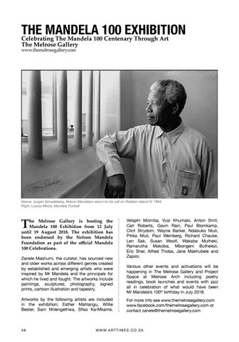 Page 48 of The Mandela 100 Exhibition