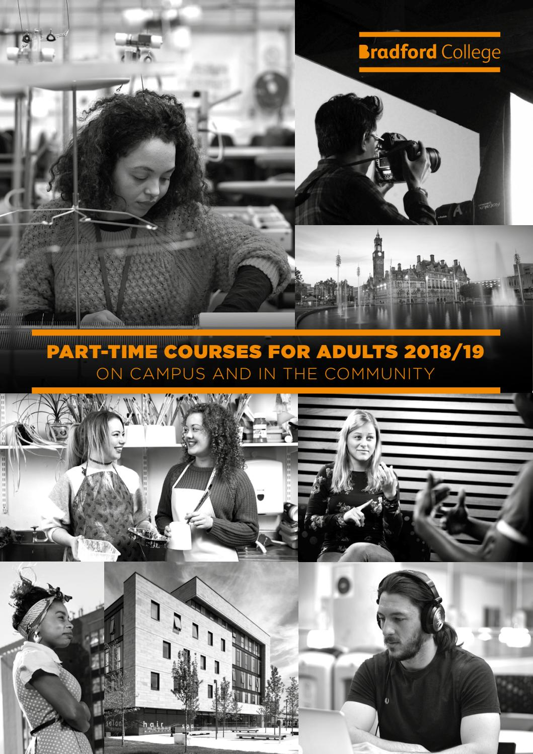Bradford College part-time courses in the community for adults by Bradford College - issuu