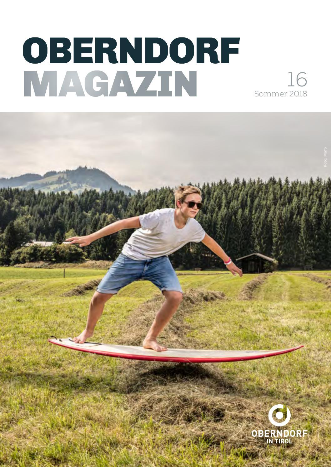 Oberndorf Magazin Nr. 16 – Sommer 2018 by Stefan Feiner - issuu