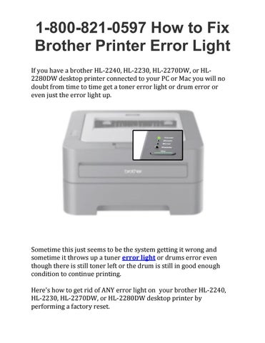 brother hl-2230 laser printer