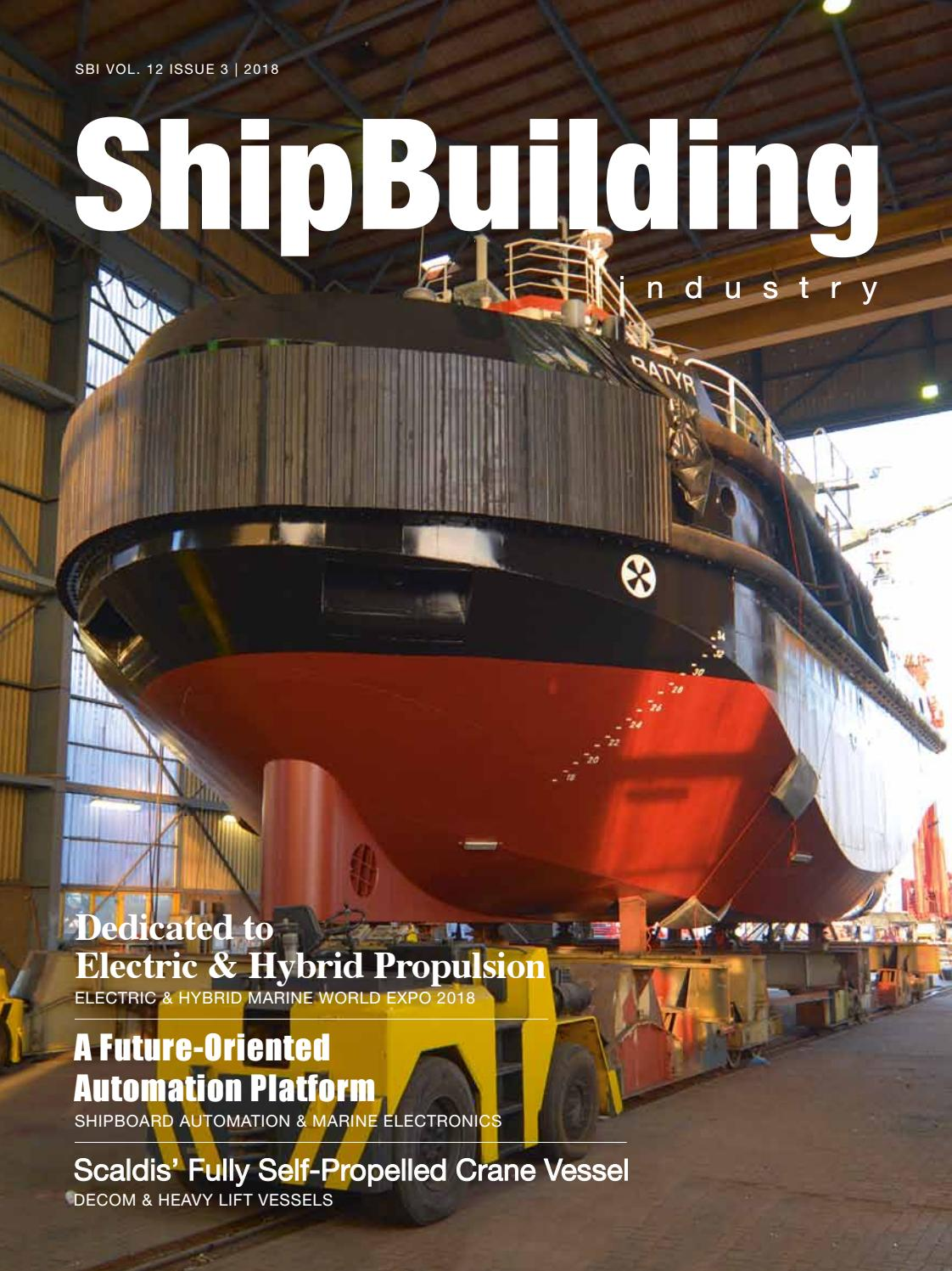 ShipBuilding Industry 2018 Issue 3 by Yellow & Finch