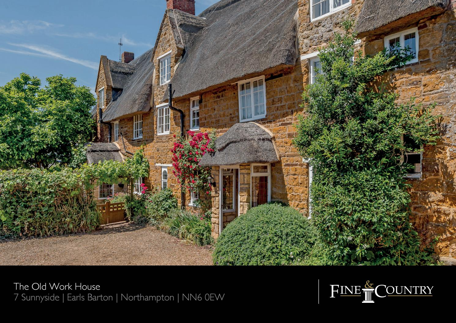 The Old Work House, Sunnyside, Earls Barton, Northants by Fine ...