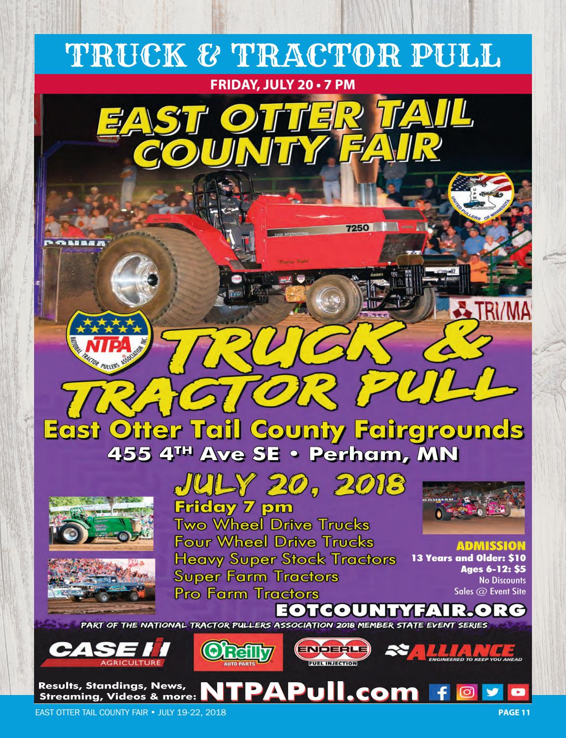 East Otter Tail County Fair - 2018 by Perham Focus - issuu