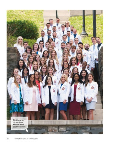 Page 22 of Kentucky College of Optometry Inaugural White Coat Ceremony
