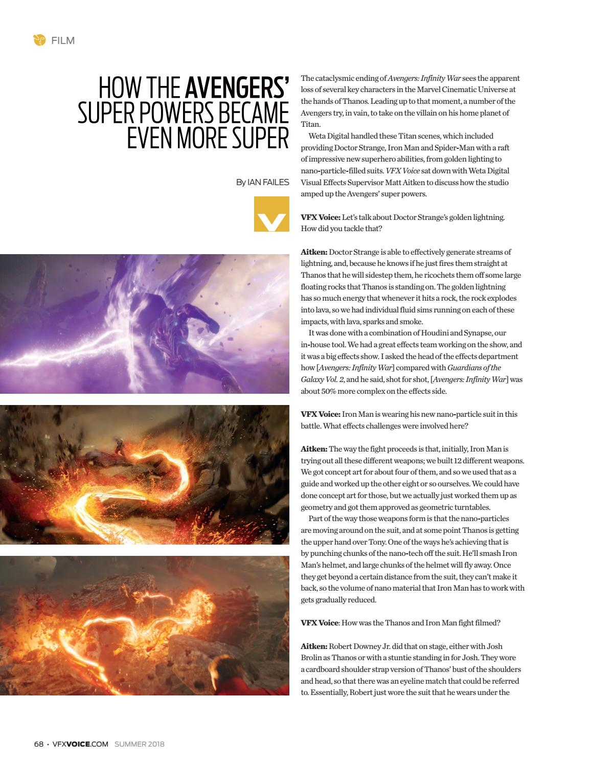 VFX Voice - Summer 2018 Issue by Visual Effects Society - issuu