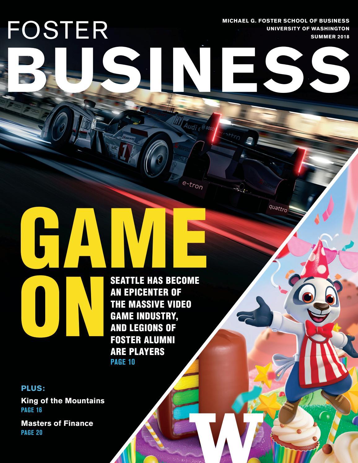 Foster Business Magazine Summer 2018 by University of Washington