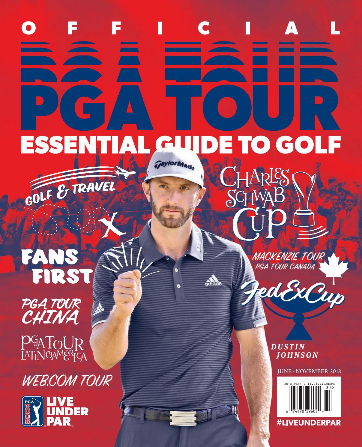 Official PGA TOUR Essential Guide to Golf: 2018 Part 2 by Magazine ...