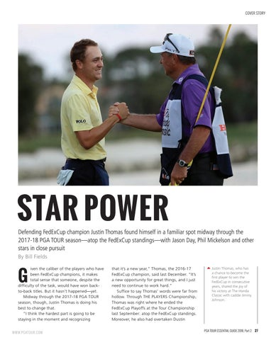 Page 27 of Star Power: PGA Tour