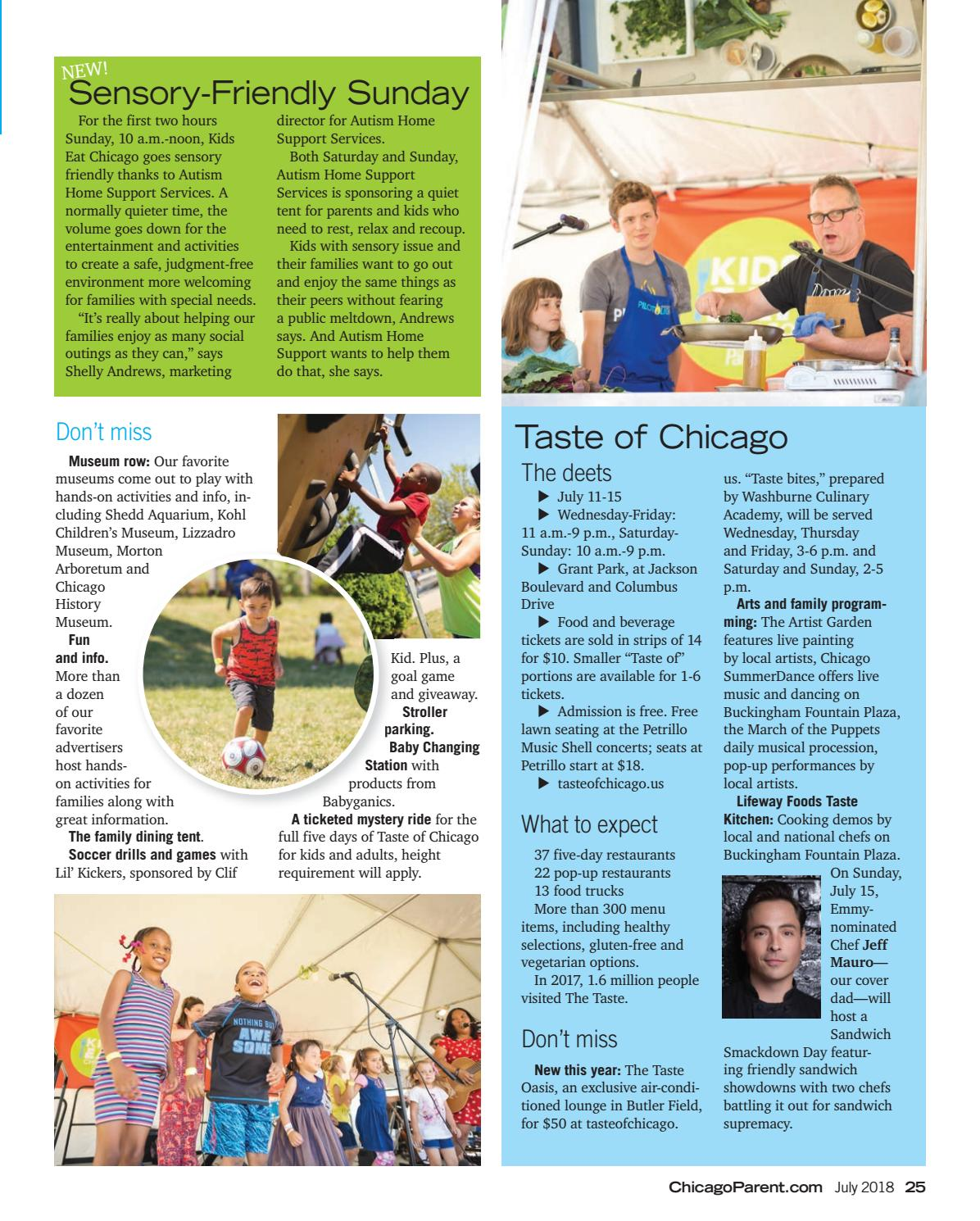 Chicago Parent July 2018 by Chicago Parent - issuu