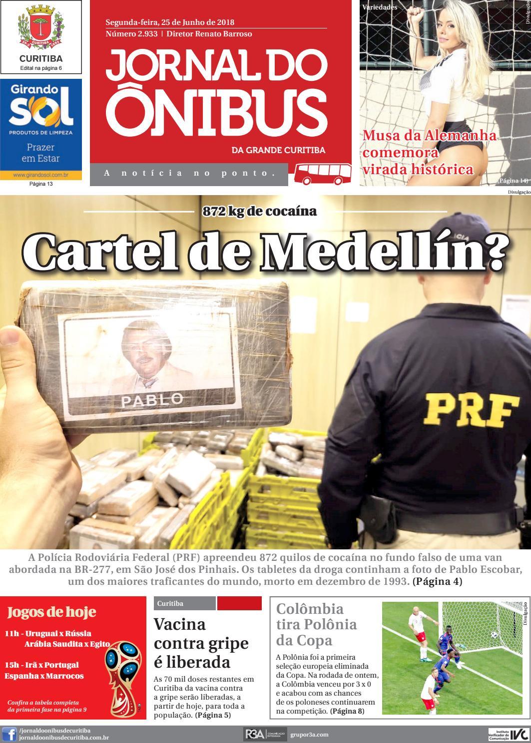 Jornal do Ônibus de Curitiba - 26 06 18 by Editora Correio Paranaense -  issuu 69767e5a63975