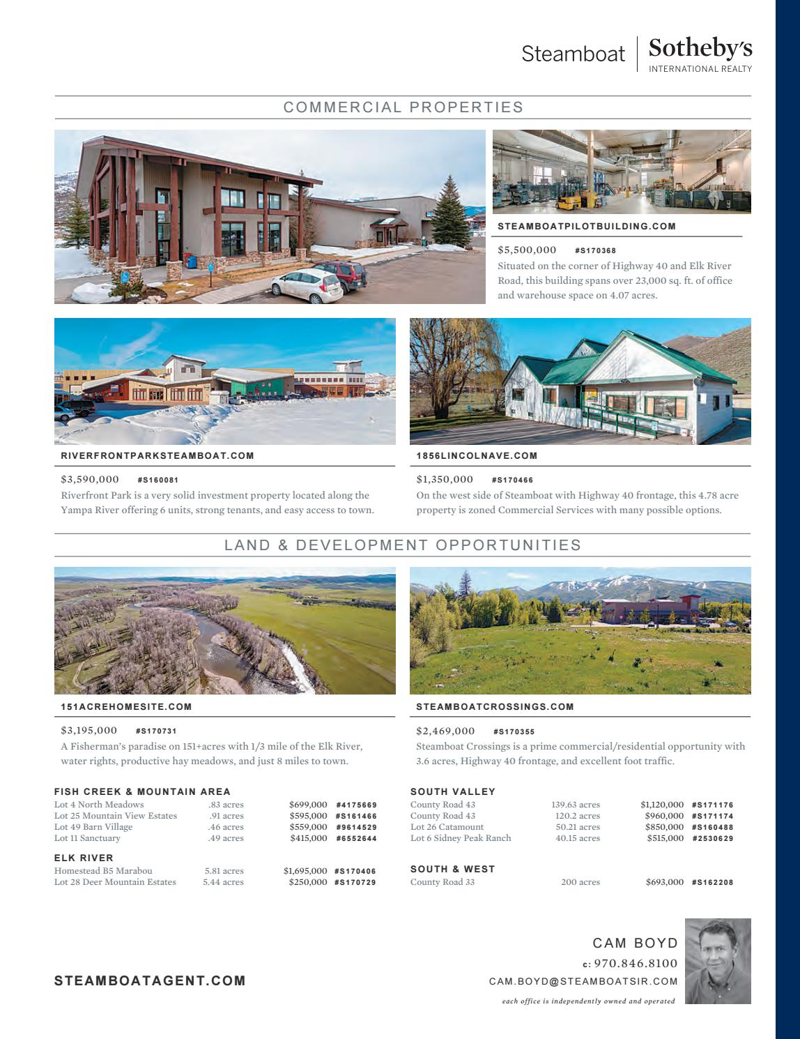 The Collection - Summer 2018 by Steamboat Sotheby's International Realty -  issuu