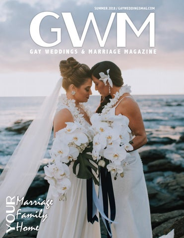 60ae8fc17a3 Gay Weddings and Marriage Magazine Summer 2018 by Gay Weddings and ...