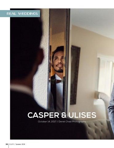 Page 56 of Real Weddings: Casper & Ulises