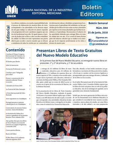 Boletín 844 By Caniem Issuu
