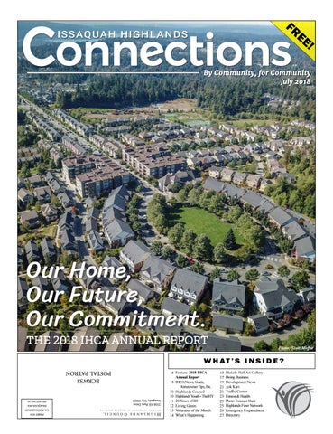 July 2018 by Issaquah Highlands Connections - issuu
