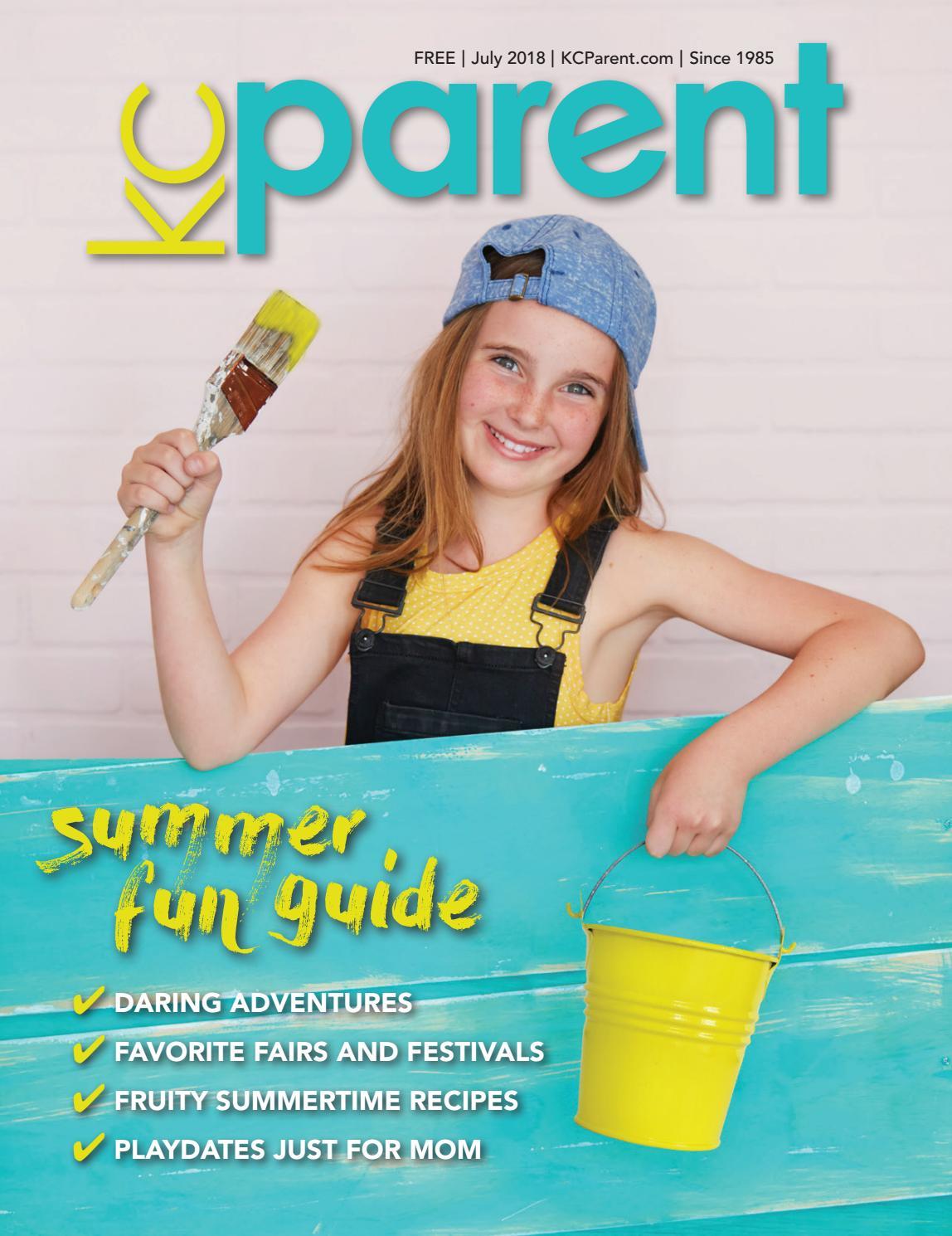 KC Parent Magazine July 2018