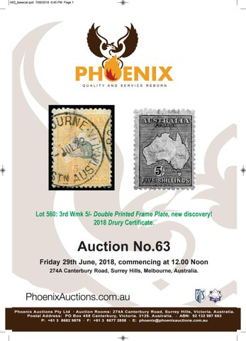 Auction 63 Text by Phoenix Auctions Pty Ltd - issuu