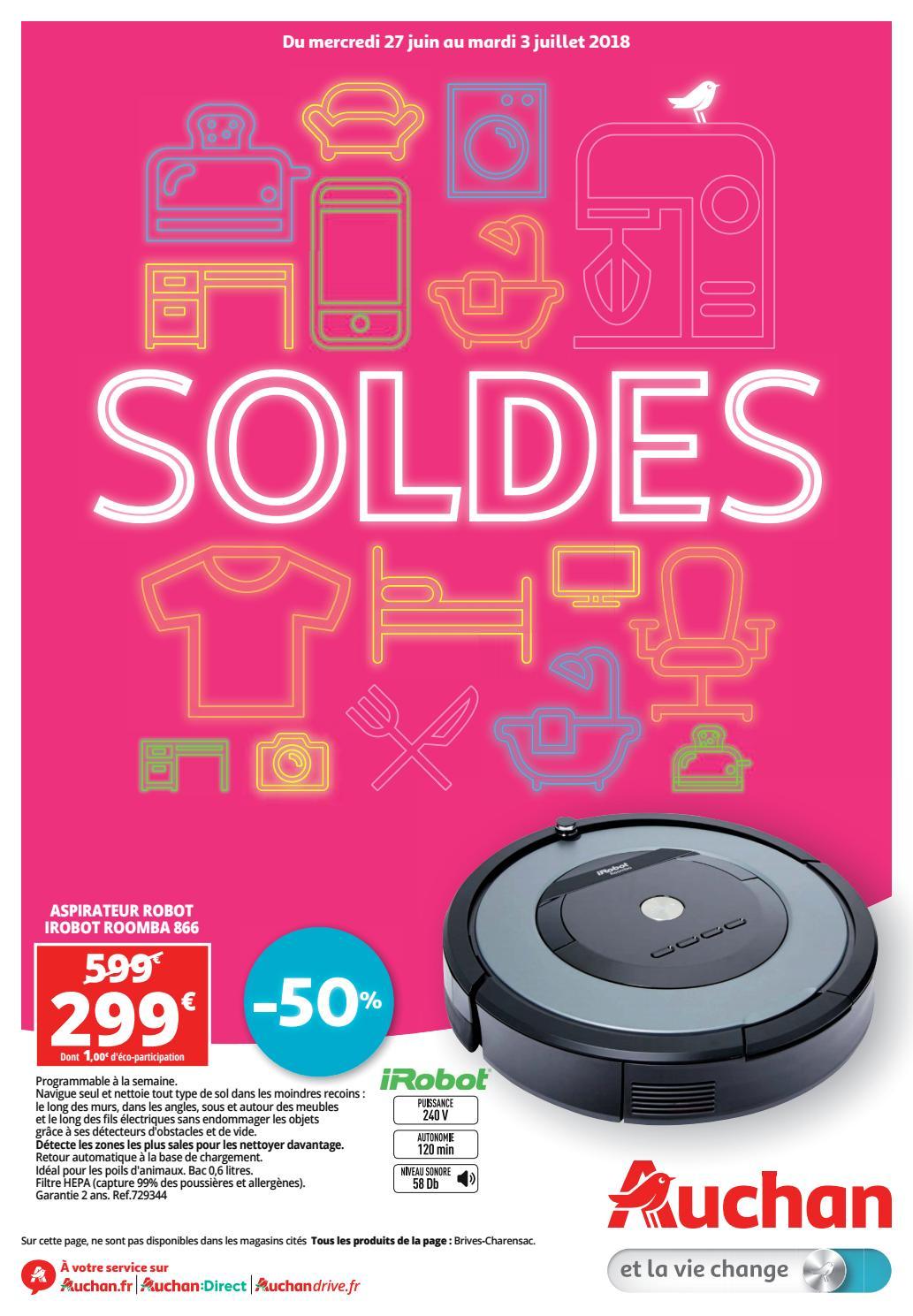 Auchan Soldes été 2018 By Bonsplans Issuu