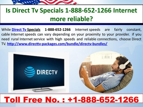 Direct Tv Cable And Internet >> Is Direct Tv Specials 1 888 652 1266 Internet More Reliable By