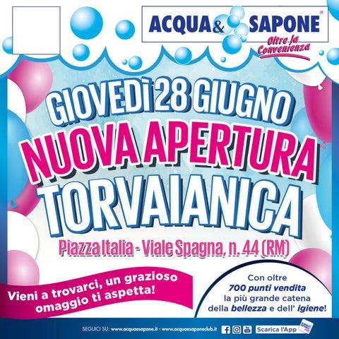 Volantino Acquau0026Sapone   Nuova Apertura Torvaianica By Acqua ...