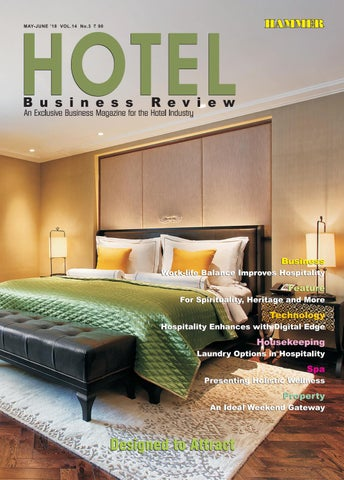 Hotel Business Review (May-June 2018) by Hammer Publishers