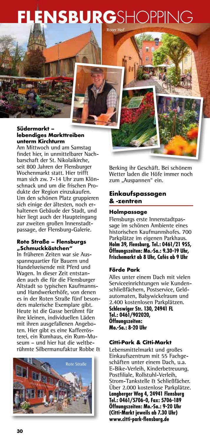 citti park flensburg öffnungszeiten