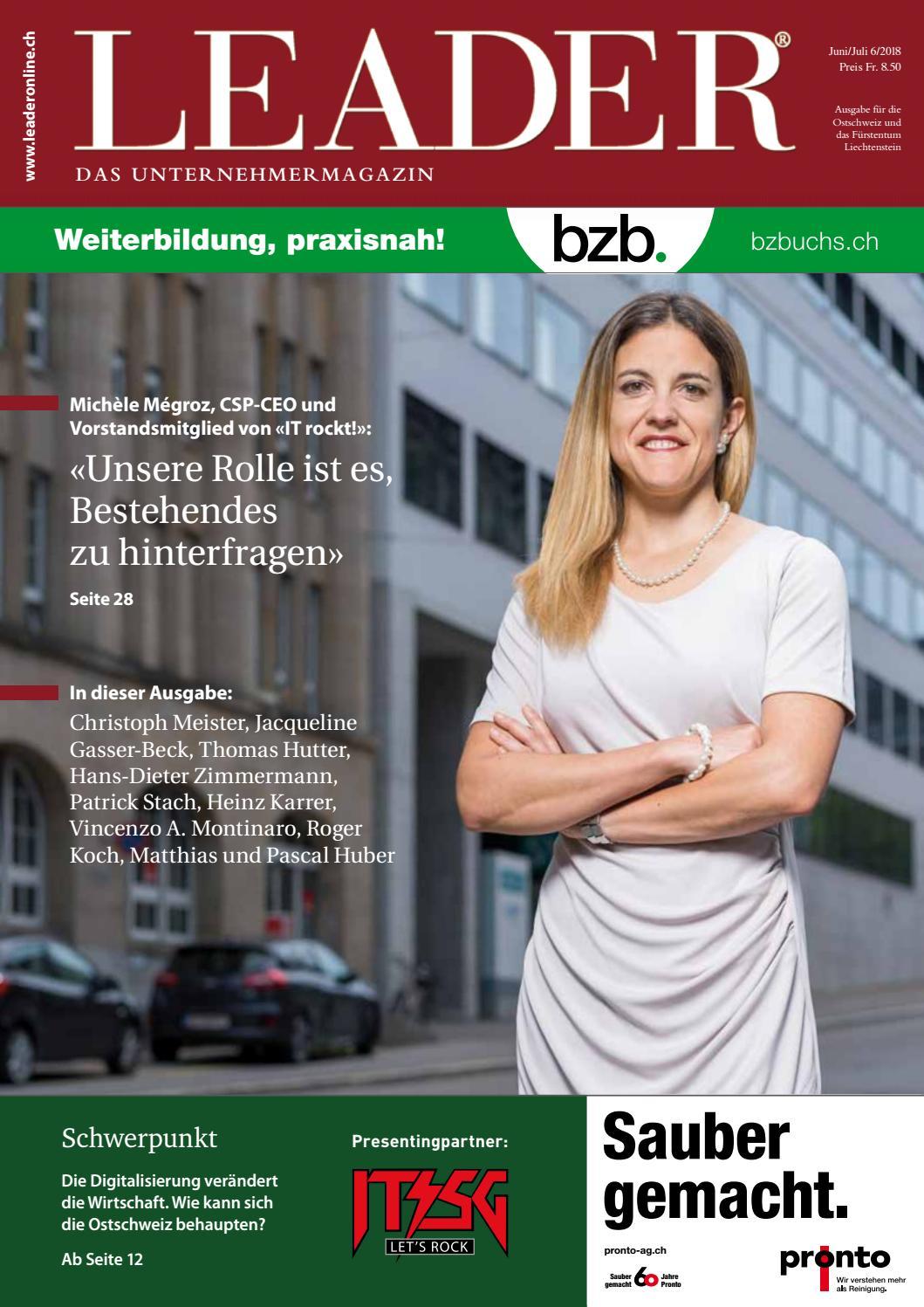 LEADER Juni/Juli 2018 by LEADER - das Unternehmermagazin - issuu