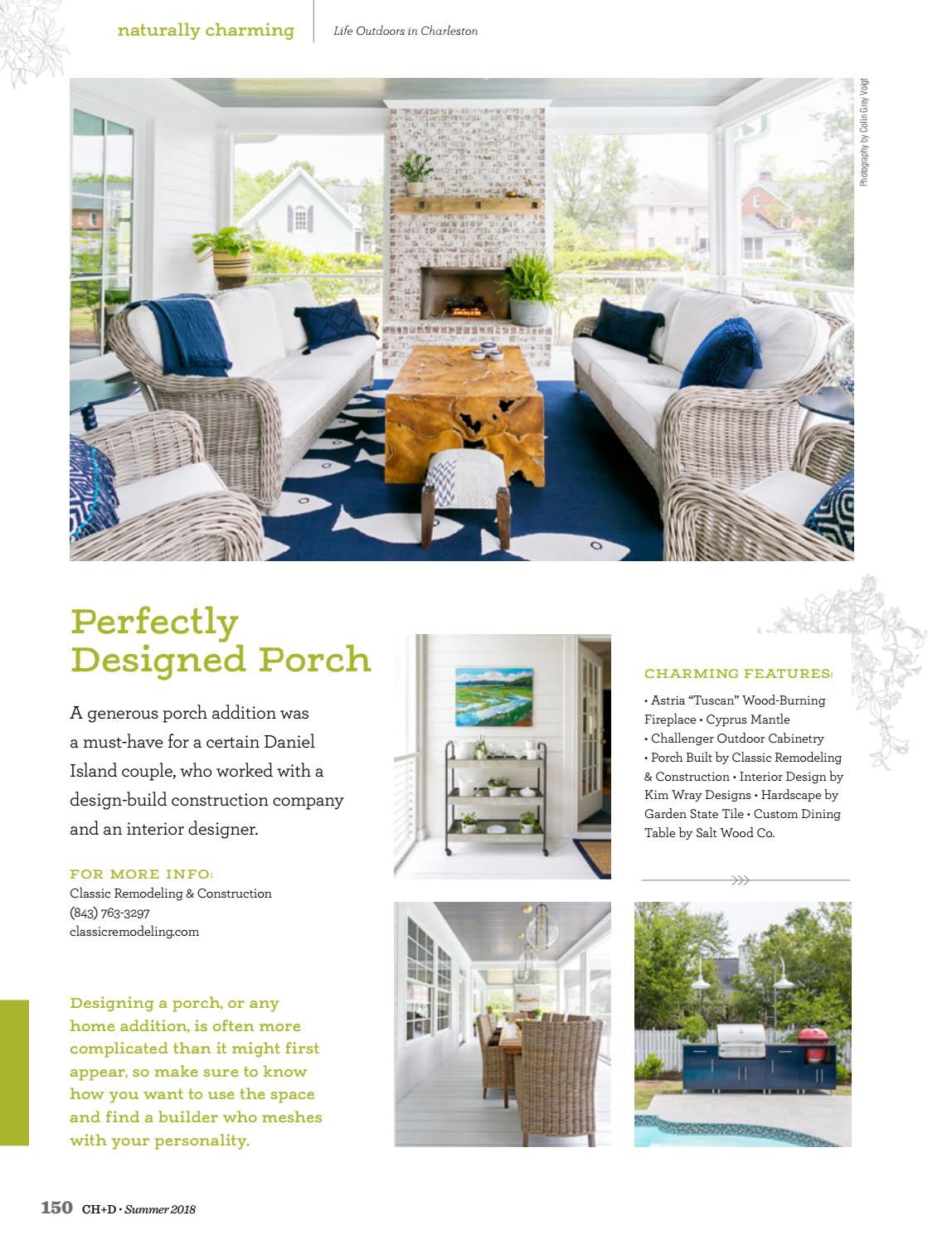 Charleston Home Design Magazine Summer 2018 By Charleston Home Design Magazine Issuu