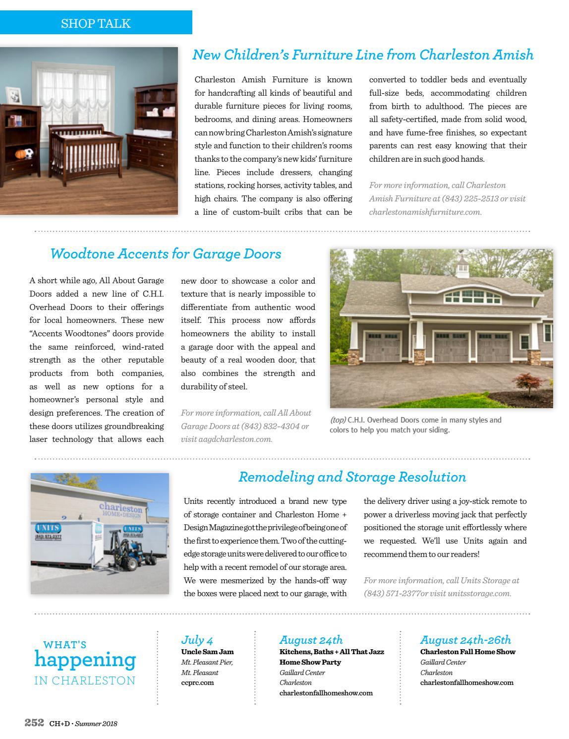 Charleston Home + Design Magazine: Summer 2018 by Charleston Home +