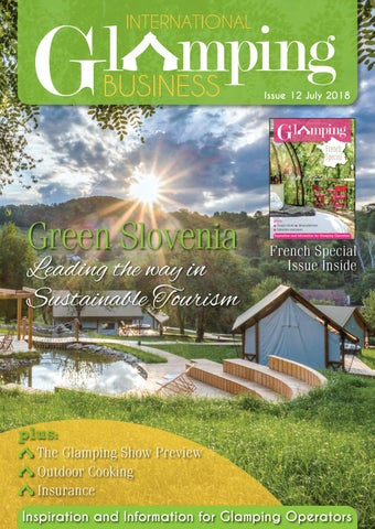 International Glamping Business July 2018 by Holiday Parks